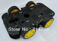 Free shipping 4WD Smart Car Chassis Kit Robot Chassis parts for sale