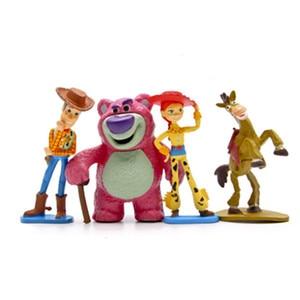 Image 5 - Disney История игрушек Полная коллекция Шериф Вуди Базз Лайтер Джесси Хэмм Рекс искусственная голова картофеля кукла экшн фигурки
