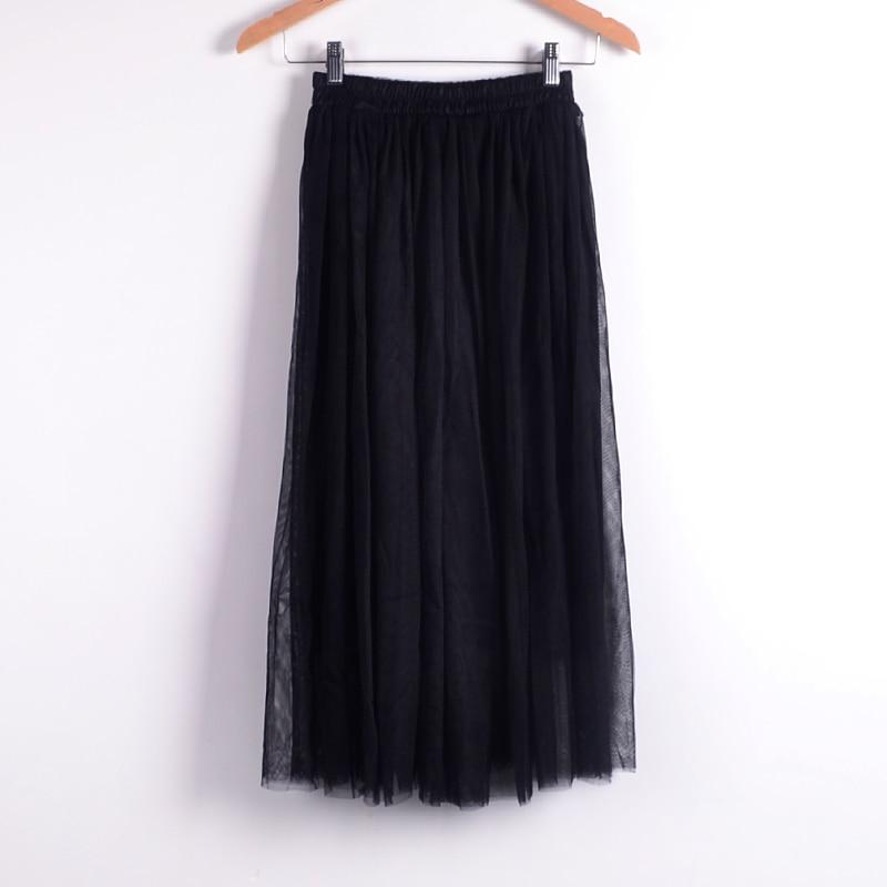 Beauty Long Tulle Skater Skirt 3