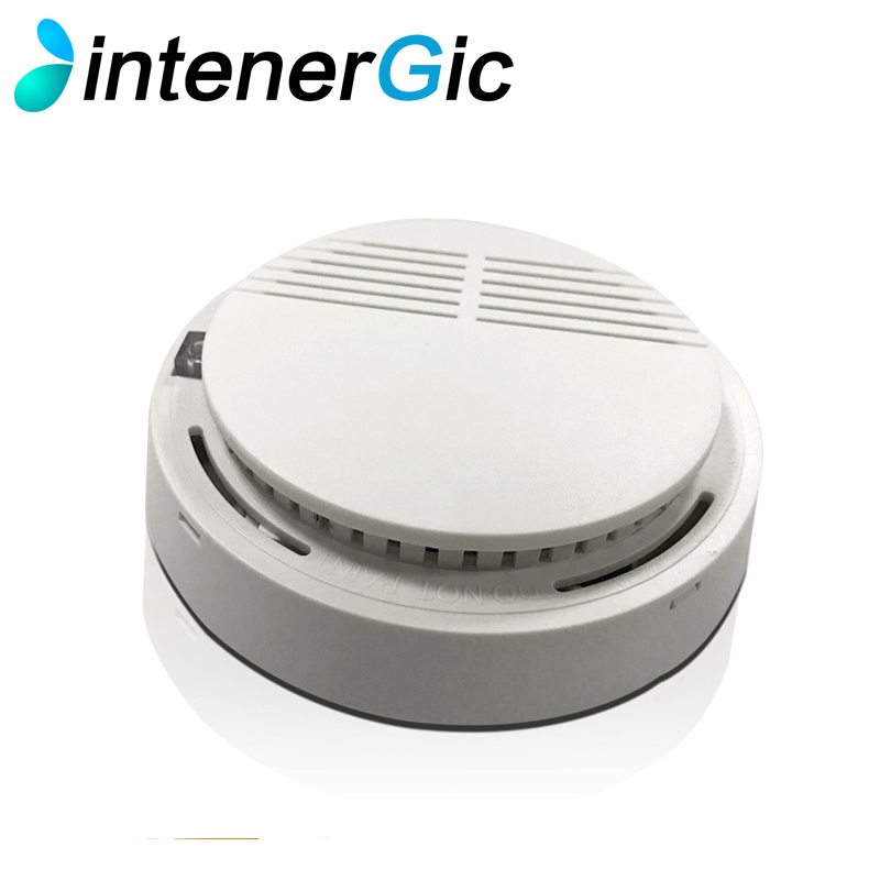 IntenerGic standalone Photoelectric Smoke Alarm 85dB Home Security System for Indoor Shop Smoke Alarm Sensor Wireless Alarm Sec