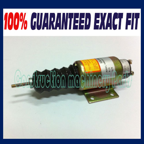 090111 2001ES-12E3U1B2S2, SA-5174-12 shutdown solenoid 3924450 2001es 12 fuel shutdown solenoid valve for cummins hitachi