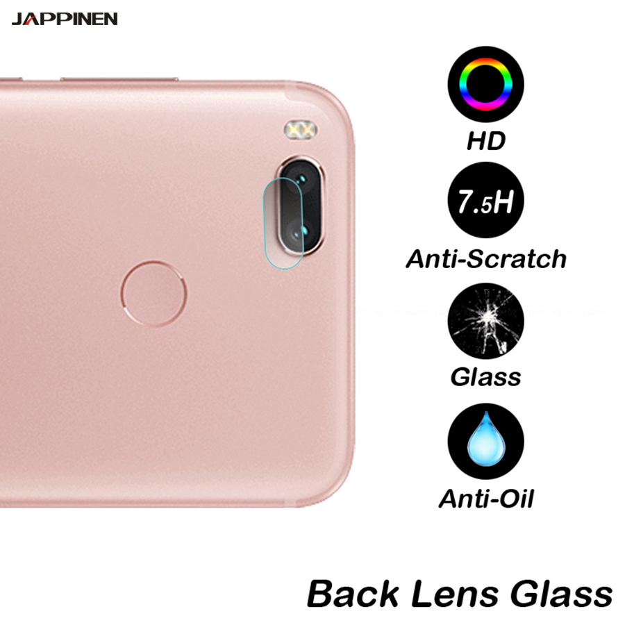 Jappinen Back Camera Lens Protector Protective Film for Xiaomi Mi 6 A1 5X Note 4 Redmi 4X Max Mix 2 2S Note 5 Pro Tempered Glass