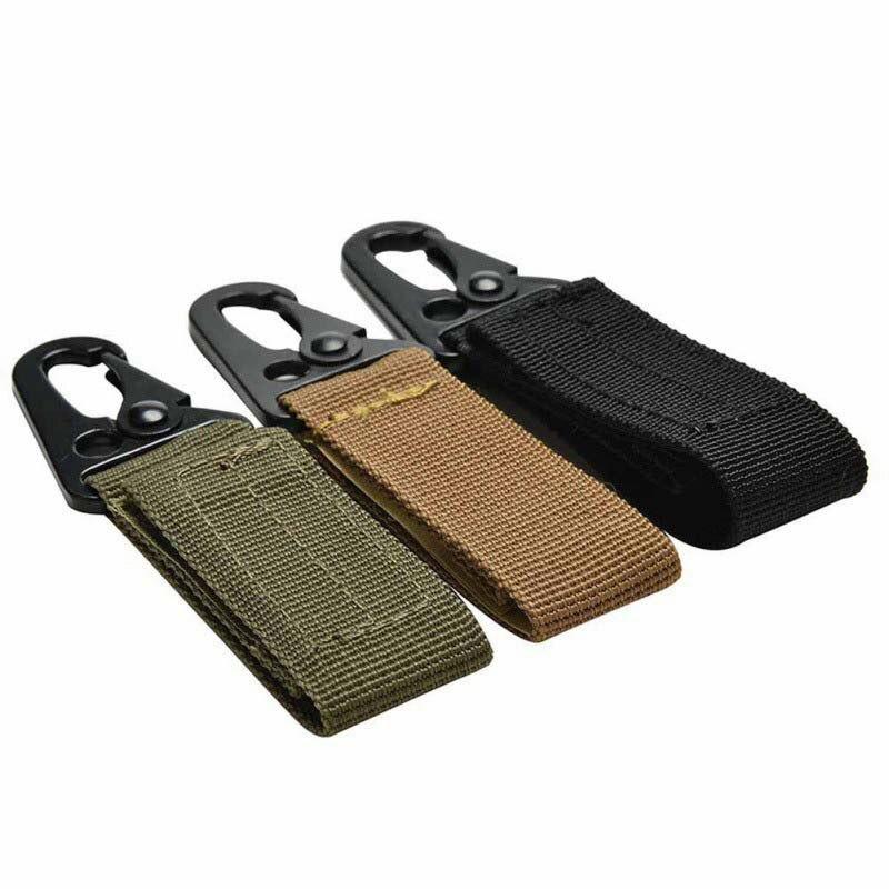 2018 Outdoor Bag Hooks Multifunction Mountaineering Buckle Nylon Webbing Backpack Hook Hanger Carabiner Kit Gear Survive Clasp Attractive Fashion