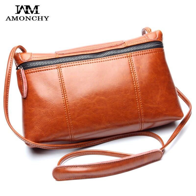 ФОТО 2016 New Genuine Leather Women's Messenger Bags Vintage Cowhide Women Shoulder Bags Natural Skin Crossbody Bag For Lady Bolsa 79