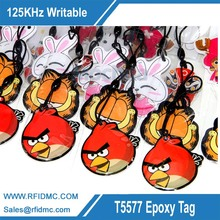 RFID Epoxy Card Writable Rewrite 125KHZ T5577 Tag Proximity Access Tag for door lock