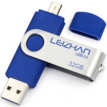 LEIZHAN Flash Drive OTG Phone Stick 4GB 8GB 16GB 32GB 64GB 128G USB 2.0 Memory Stick Pen drive Pendrive Android Phone Photostick цена и фото