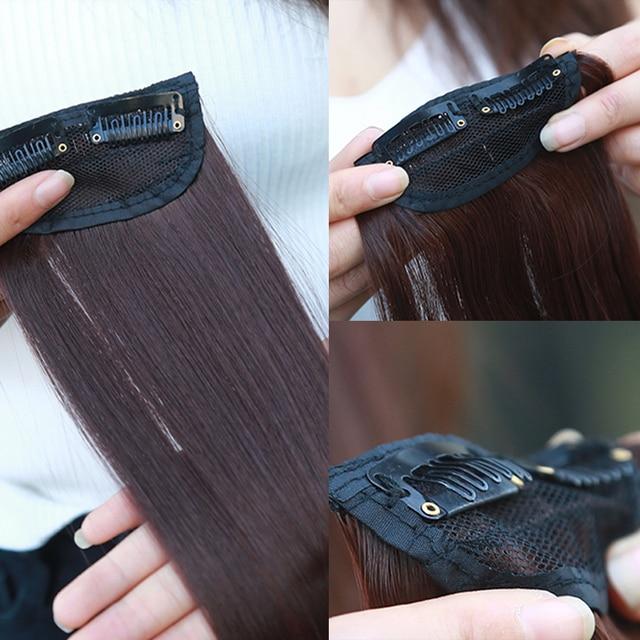 "SARLA 20"" 24"" 28"" Synthetic Hairpieces Straight Hair Extension Clip-in Hair Extensions Highlight Hair High Temperature Fiber 2"