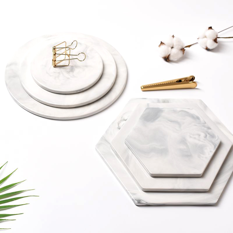 Мраморные разделочные доски для сыра декоративная тарелка для кондитерских изделий поднос для сервировки измельчитель разделочная подставка Mad Pad серый большой круглый прямоугольник-2