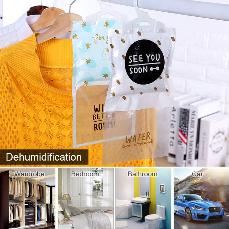 Hanging Dehumidifier Kitchen Supplies Home Moistureproof Bag Multifunctional Household Home Decor Indoor Desiccant Bag
