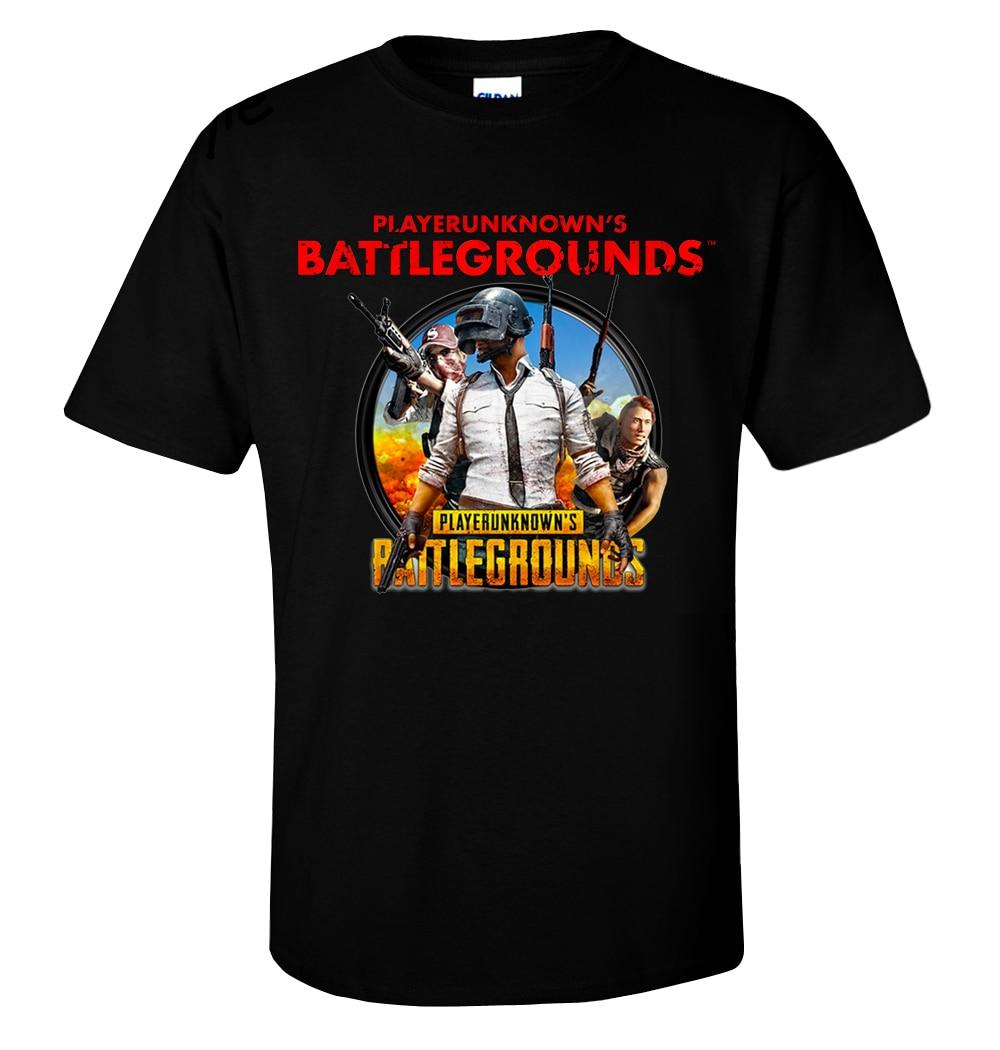 New Player Unknown Battleground PUBG Game FPS Gildan Mens T shirt