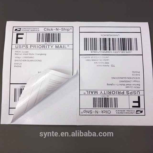 Online Shop 100 Half Sheet Shipping Address Labels For Laser Ink Jet - Address Label