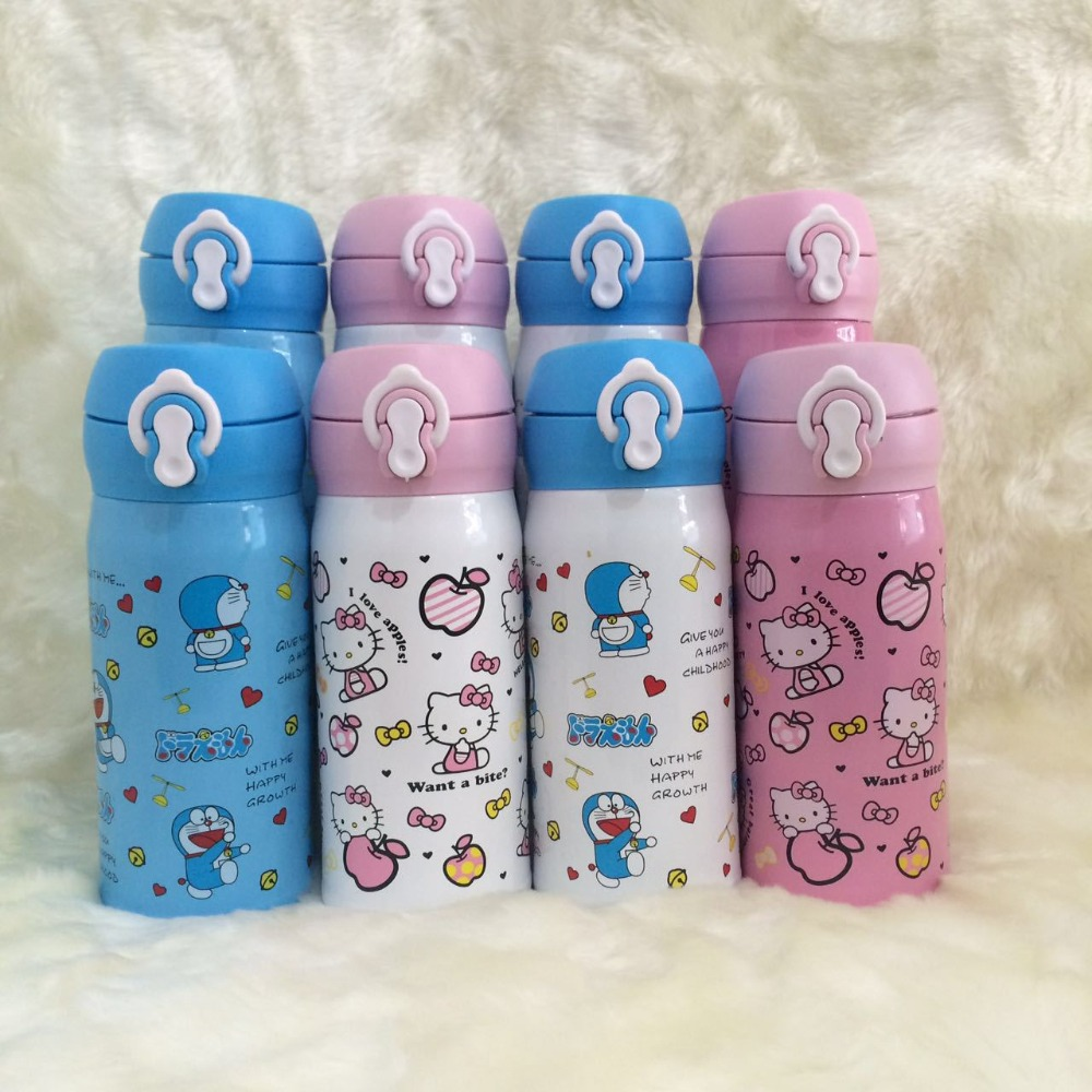 New Hello Kitty Stainless Steel Double Wall Vacuum Flask Coffee Mug Travel Tumbler Water Bottle Insulated