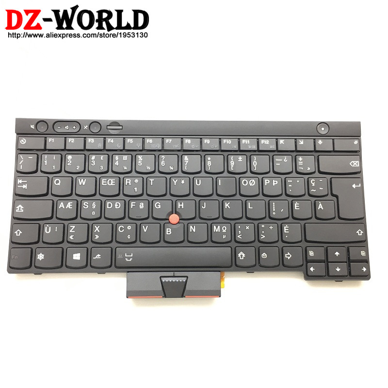 New Original for Thinkpad L430 L530 T430 T430i T430S T530 T530i W530 Canadian French Keyboard 04X1278 0C01961 04X1202 04X1316 все цены