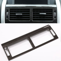 Center Control AC Outlet Vent Frame Cover Trim Sticker For Land Rover Discovery Sport Car Accessories