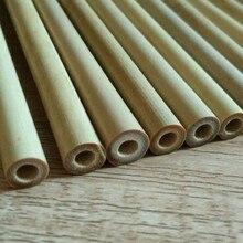 Set of Natural Bamboo Drinking Straws