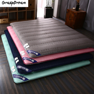Luxury Memory Foam 6CM High Elasticity Mattress Double Bed Mat Tatami Multi-size Anti-skid Mattress Student Dormitory Bed Mat(China)