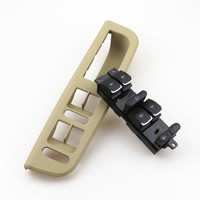A STYLE Master Window Control Switch Button Control Panel Box Frame For VW Jetta MK4 Golf