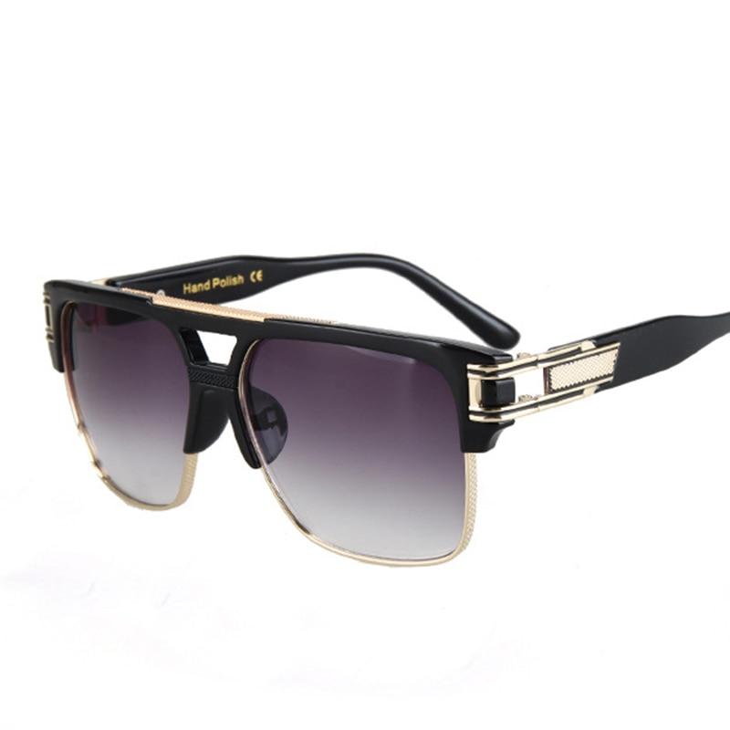Fashion Luxury Solglasögon Män Kvinnor Märke Designer Semi Rimless - Kläder tillbehör - Foto 4
