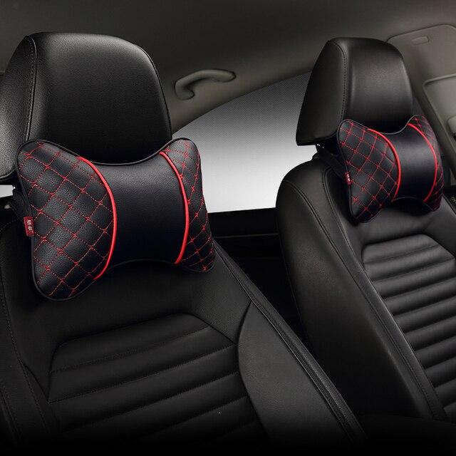 รถ Headrest คอหมอน Four รถที่นั่ง Headrest หมอนคอป้องกันหมอนบน