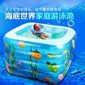 Melhor venda 110*110*70 cm criança piscina inflável do bebê piscina piscina inflável inflável do esporte da água para verão frete grátis