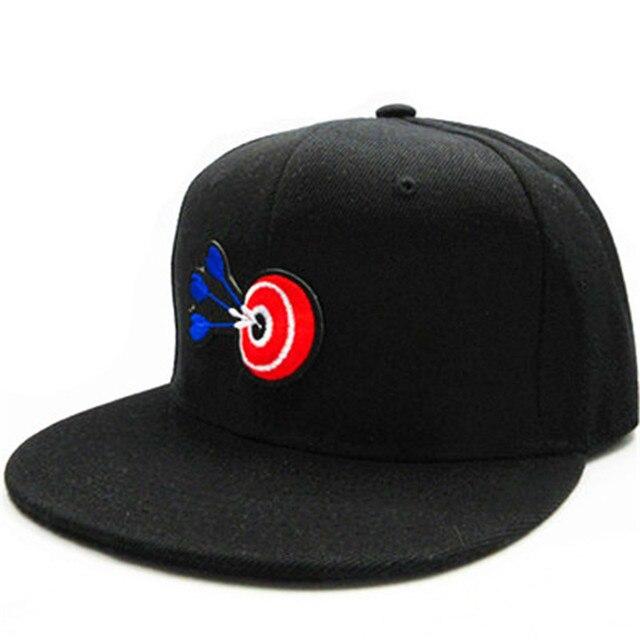 3c2200742e16d LDSLYJR Archery target embroidery cotton Baseball Cap hip-hop cap  Adjustable Snapback Hats for men and women 289
