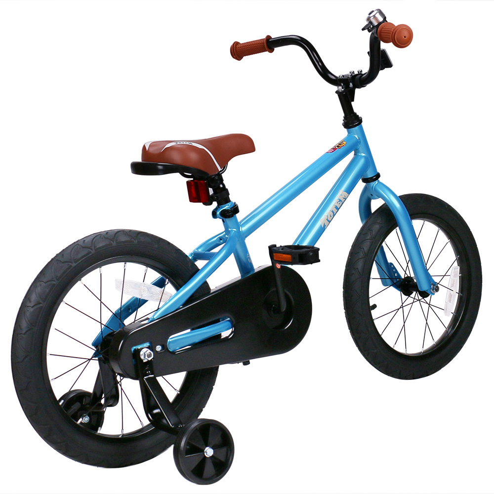 Totem 12/14/16/18 inch Kids Bike DIY Stickers for Boys & Girls, Kids Bicycle with Training Wheel( 12, 14, 16 inch aviliable)