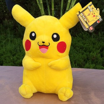 100% new about 30cm anime pikachu plush toy soft doll birthday gift b0866