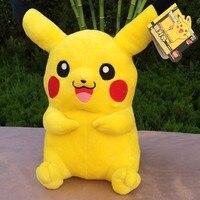 100% new about 30cm anime pikachu plush toy soft doll birthday gift b0866