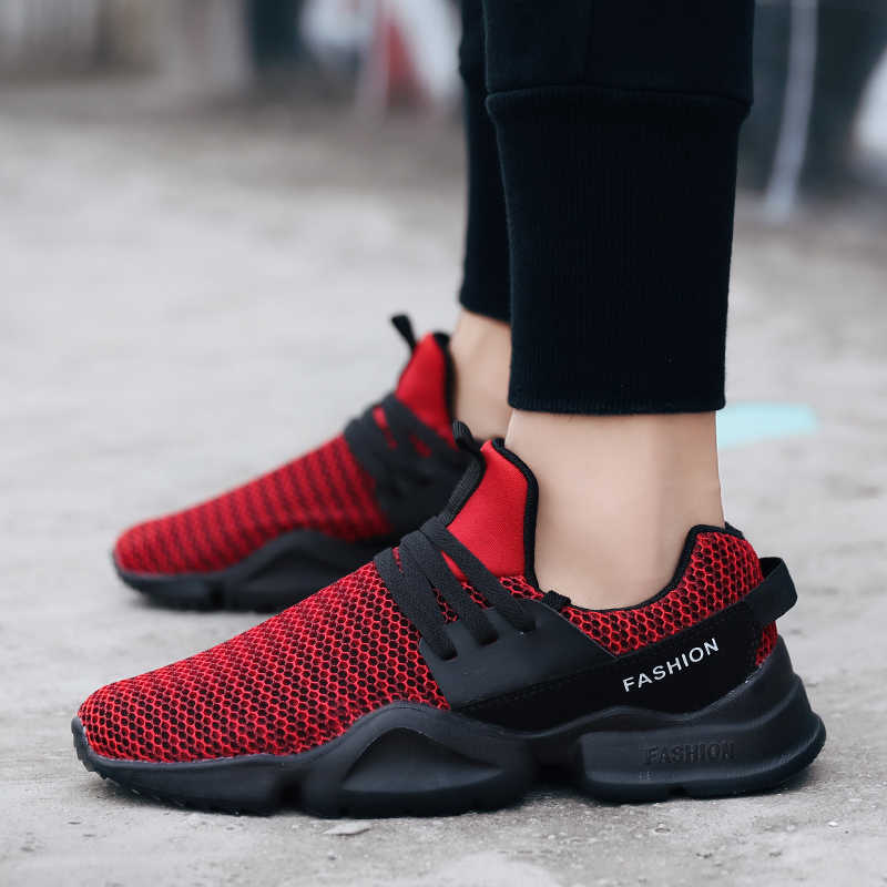 LAISUMK męskie modne buty buty sportowe męskie lekkie buty w stylu casual dla mężczyzn oddychające męskie adidasy buty Schoenen Mannen