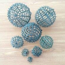 Fabrika Satış Için Plastik Çerçeve çiçek topu DIY Çelenk Çerçeve Öpüşme Topları çim buket düğün prop toptan