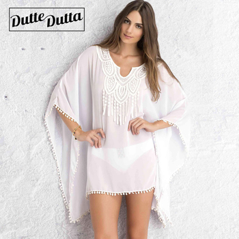Summer Dress Beach Dresses Women Tunic Women's Robe De Plage Pareo For Beach Wear Bikini Cover Up Playa Beachwear Beach Tunics