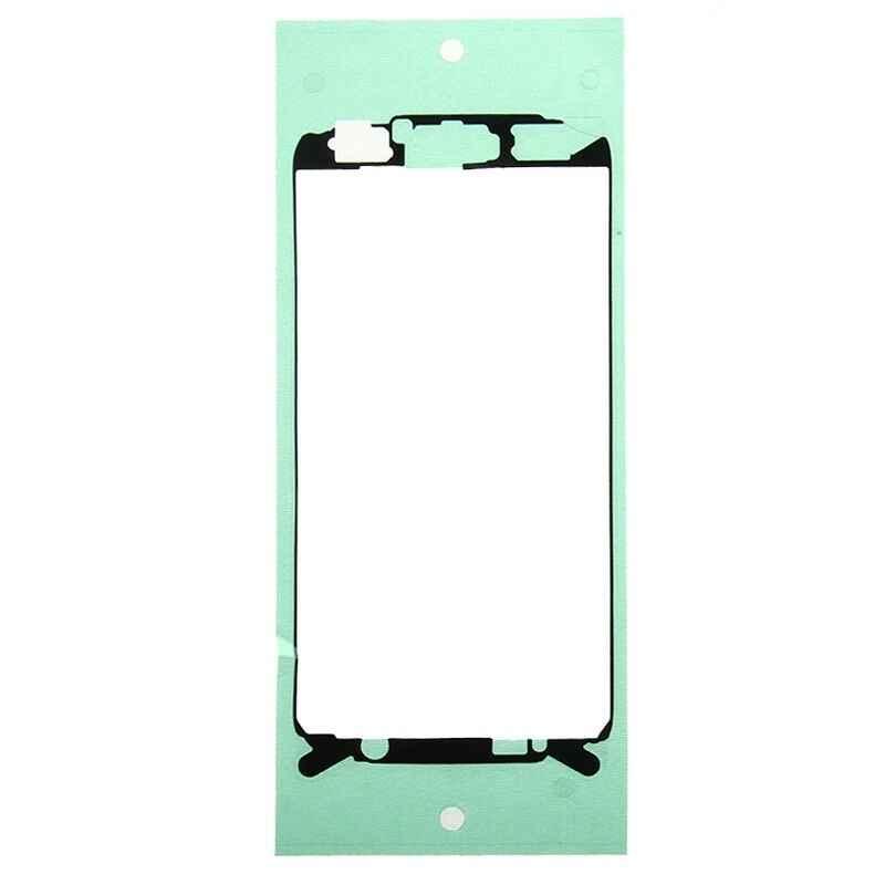 עבור סמסונג גלקסי S6 SM-G920 LCD קדמי מסגרת לוח חזרה LCD סוללה כריכה אחורית דלת דבק מדבקה