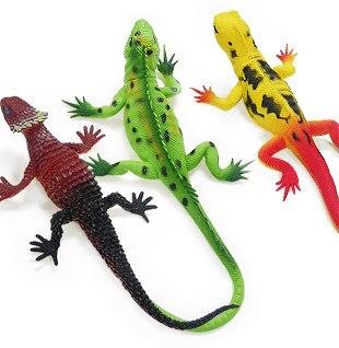 Estartek Simulation-Model-Toy Lizard Reptile-Model PVC for Fans Holiday/Gift/L26cm The