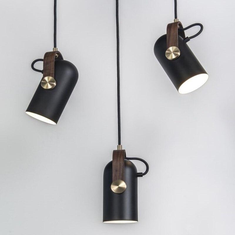 1 Stücke Led-strahler E27 Veranda Licht Für Kleidung Shop Schlafzimmer Nordic Hängen Lampe Moderne Büro Einzigen Bar Cafe Bild Licht SchöNe Lustre