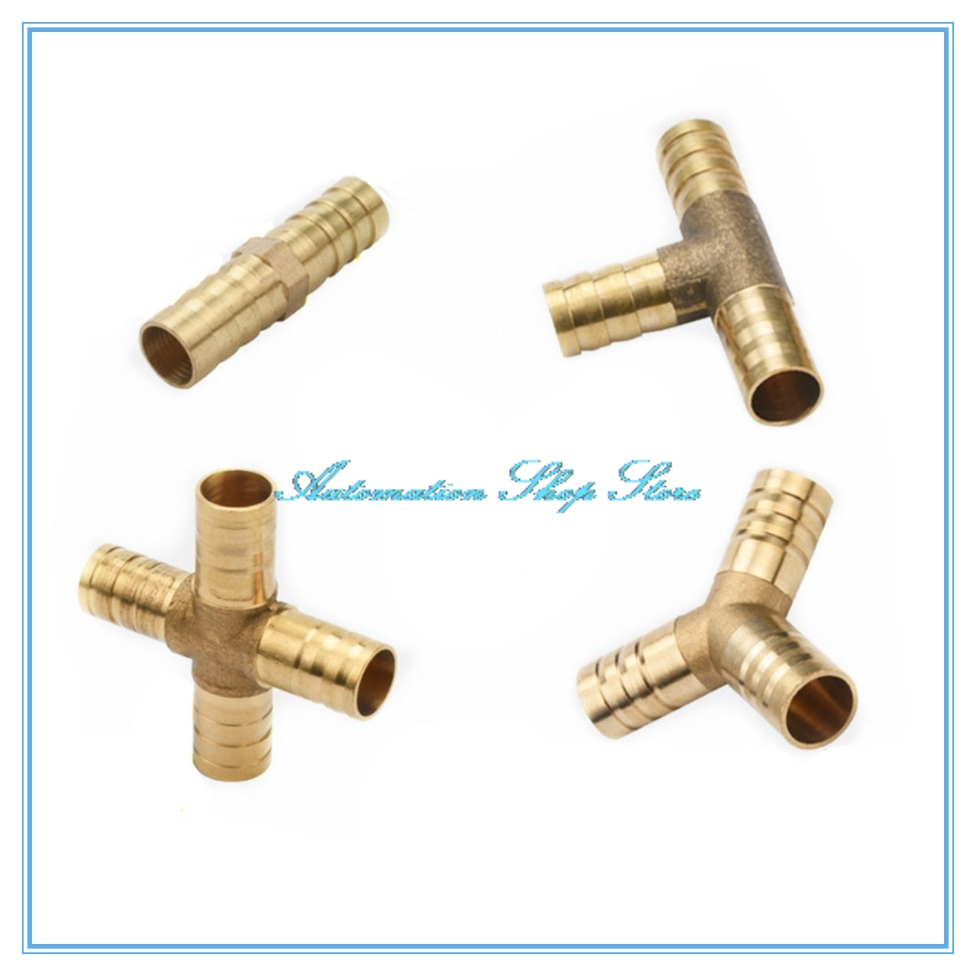 L-Piece Barbed 10mm to 6mm Tube Hose Pipe Connector Fitting Joiner Air Water