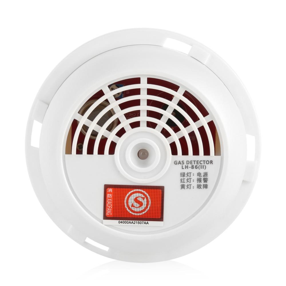 70db Natural Gas Leak Alarm Warning Sensor Detector Home Security Tool with Indicator Light