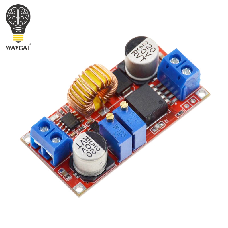 Original 5A DC to DC CC CV Lithium Battery Step down Charging Board Led Power Converter Lithium Charger Step Down Module XL4015-in Integrated Circuits from Electronic Components & Supplies