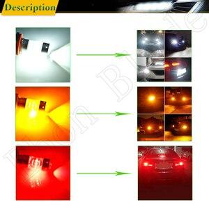 Image 5 - 1156 BA15S P21W 1157 BAY15D P21/5W Car LED Light 3030 140W Auto Brake Reverse Turn Signal DRL Bulb Lamp 12V 24V White Red Amber