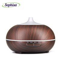 Sophisa 300ml 2017 Trending Products Wood Aroma Essential Oil Diffuser Ultrasonic Mist Humidifier Best Birthday Gift