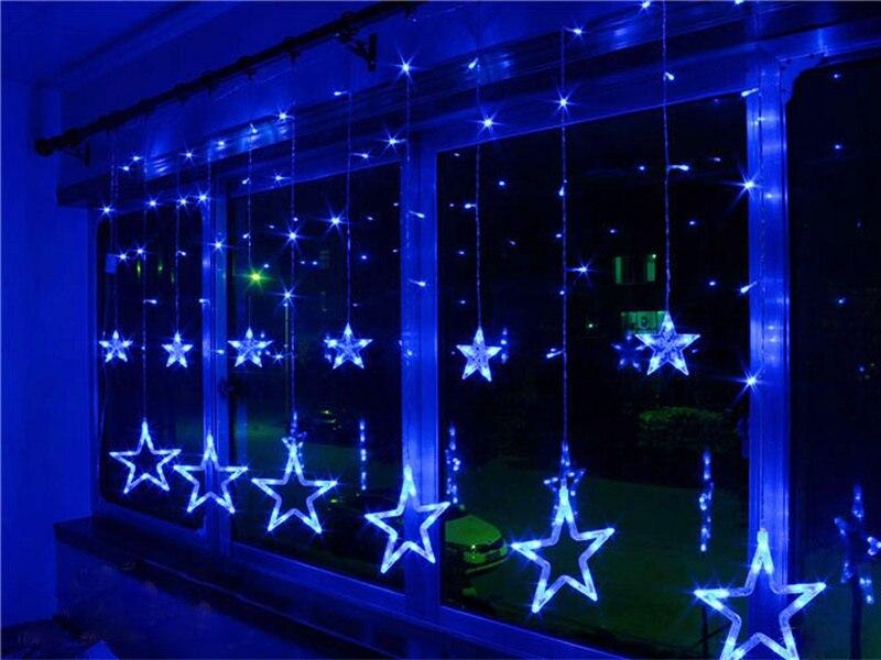 Aliexpress.com : Buy Xmas AC 110V 220V Strobe Light Christmas Star ...