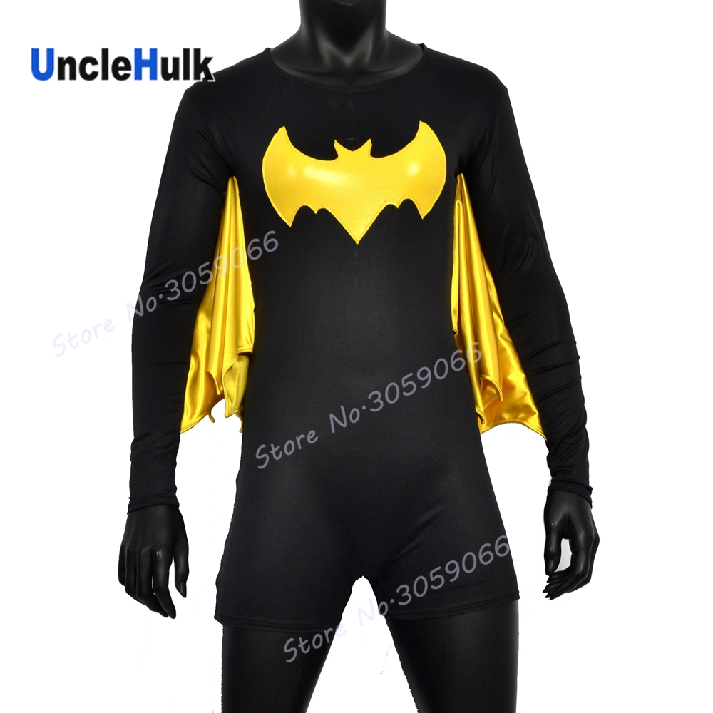 Bat Girl | Printed Spandex Lycra Full Bodysuit | UncleHulk