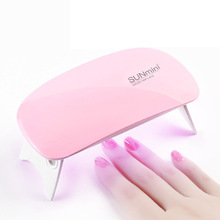 SUNUV SUNmini 6w UV LED Lamp Nail Dryer Portable USB Cable For Prime Gift Home Use Gel Polish Mini Art Tools