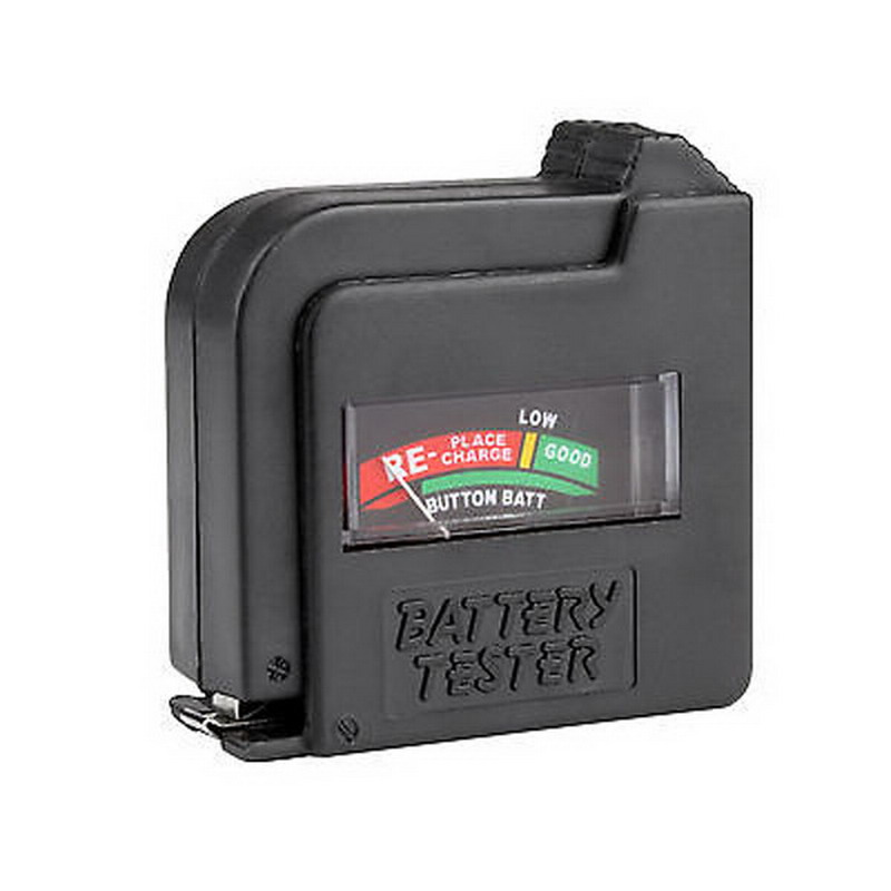 A2 New AA/AAA/C/D/18650/9V/1.5V Universal Button Cell Battery Volt Tester Checker T1469 P