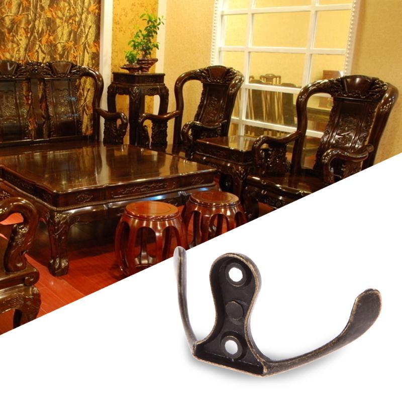 Винтажные античные крючки для спальни из цинкового сплава, вешалка для одежды, пальто, шляп, сумок, полотенец, вешалка для ванной комнаты, настенный крючок - Цвет: 02