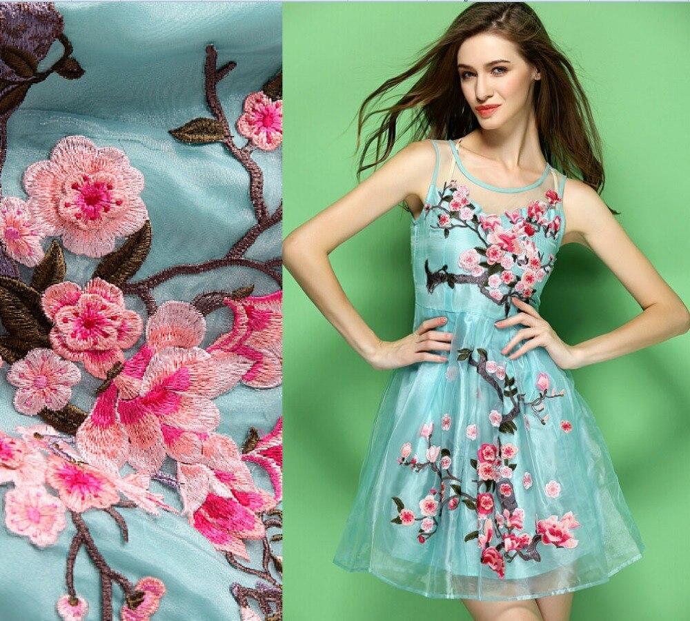 Birthday Dress For Womens: Plus Size 2015 Fashion Elegant Vintage Organza Embroidery