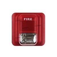 Sound And Light 24V Alarm Fire Alarm Siren Lights Flash LS 104