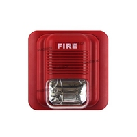 Sound And Light 24V Alarm Fire Alarm Siren Lights Flash LS 104