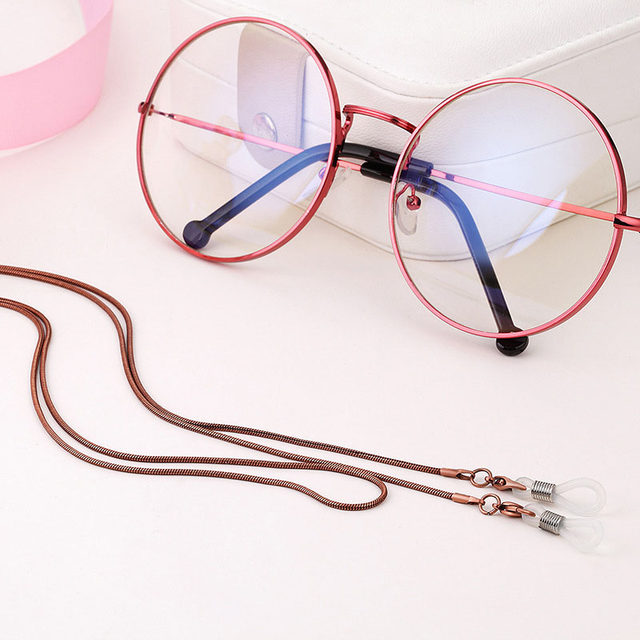 Online Shop New Arrival Copper String Eyeglasses Chain Reading ...