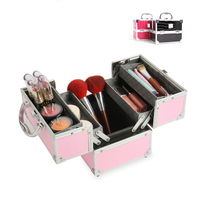 2018 Professional Makeup Bag Women Cosmetic Case High Quality Female Korean Makeup Box Large Capacity Travel