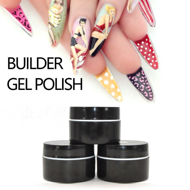 Perfect Nails Gel French Manicure Clear UV Polish Soak Off Builder Glaze Base Coat